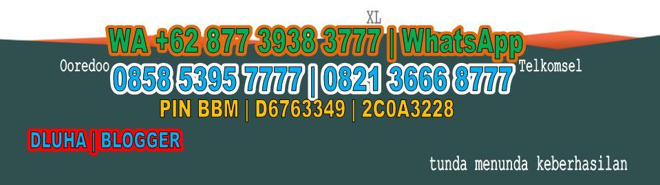087739383777 | DLUHA Perancang Situs Web atau Website Desain | Jasa Olah Data dan Bimbingan Skripsi