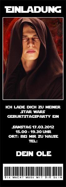 Schön Star Wars Einladungskarten Zum Ausdrucken U2013 Cloudhash, Einladungsentwurf