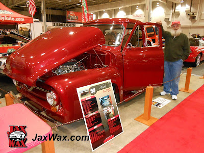 Jax Wax 1955 Ford F100