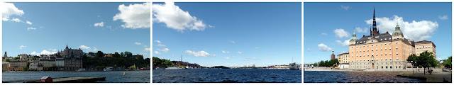 Estocolmo Canal Stockholm island Gamla Stan
