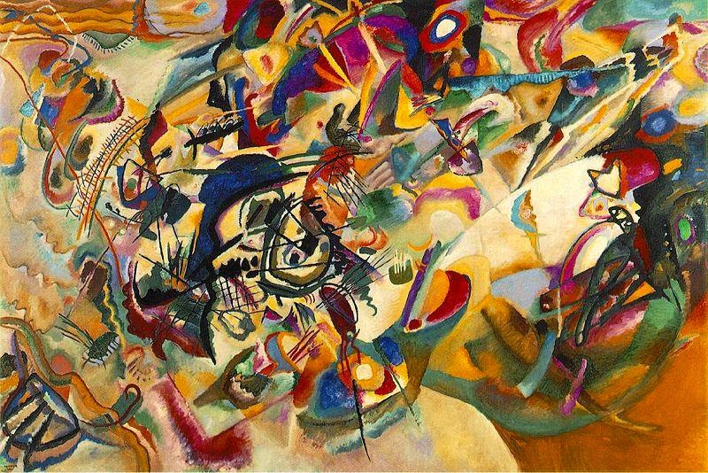 Composition VII - Vasily Kandinsky, 1913