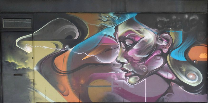 Street art in croydon art quarter part 2