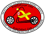 Ride in Red logo