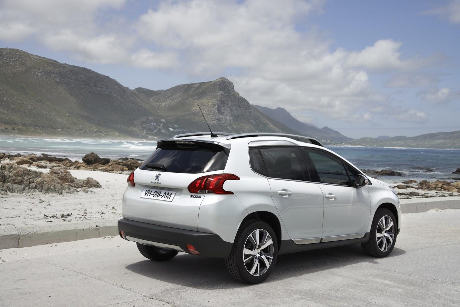 La nouvelle Peugeot 2008 fait sa première au mondiale au salon de