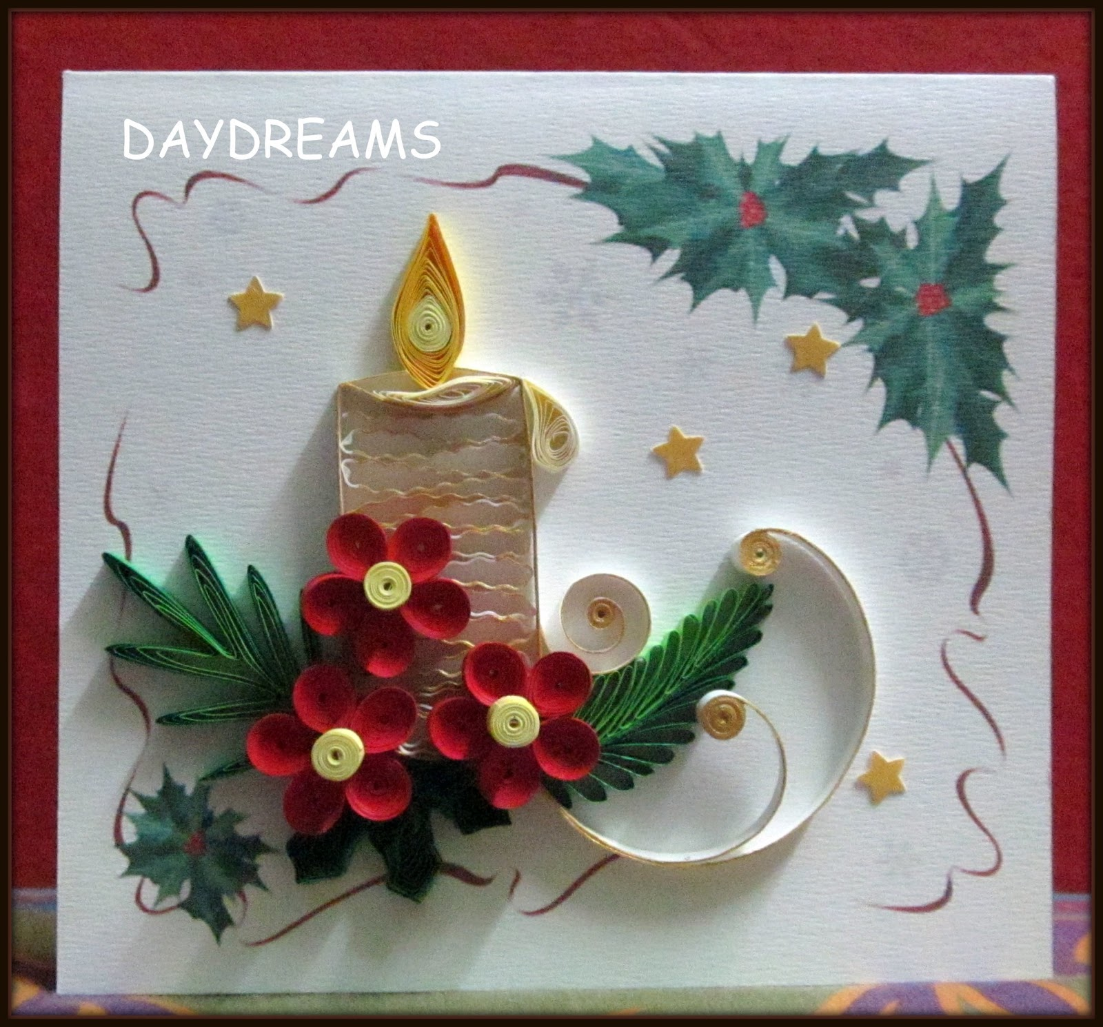 Paper quilling christmas card images all ideas about christmas and daydreams christmas card m4hsunfo