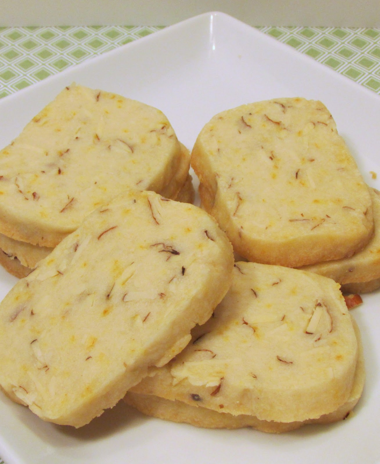 Baker Becky: Almond Orange Shortbread
