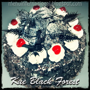 Kue Black Forest Jozz