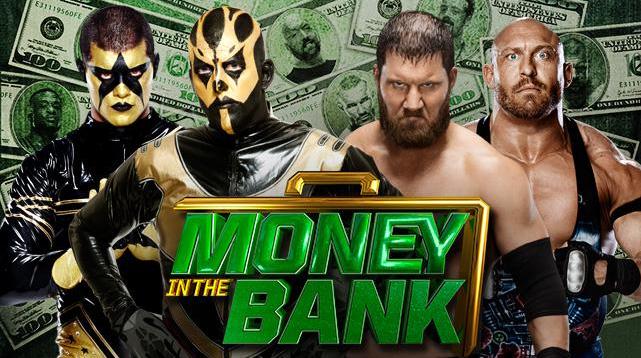 goldust y stardust se enfrascan en un combate vs axel y ryback en money in the bank