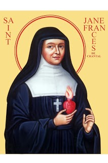 St.Jane de Chantal--Patron Saint 2014