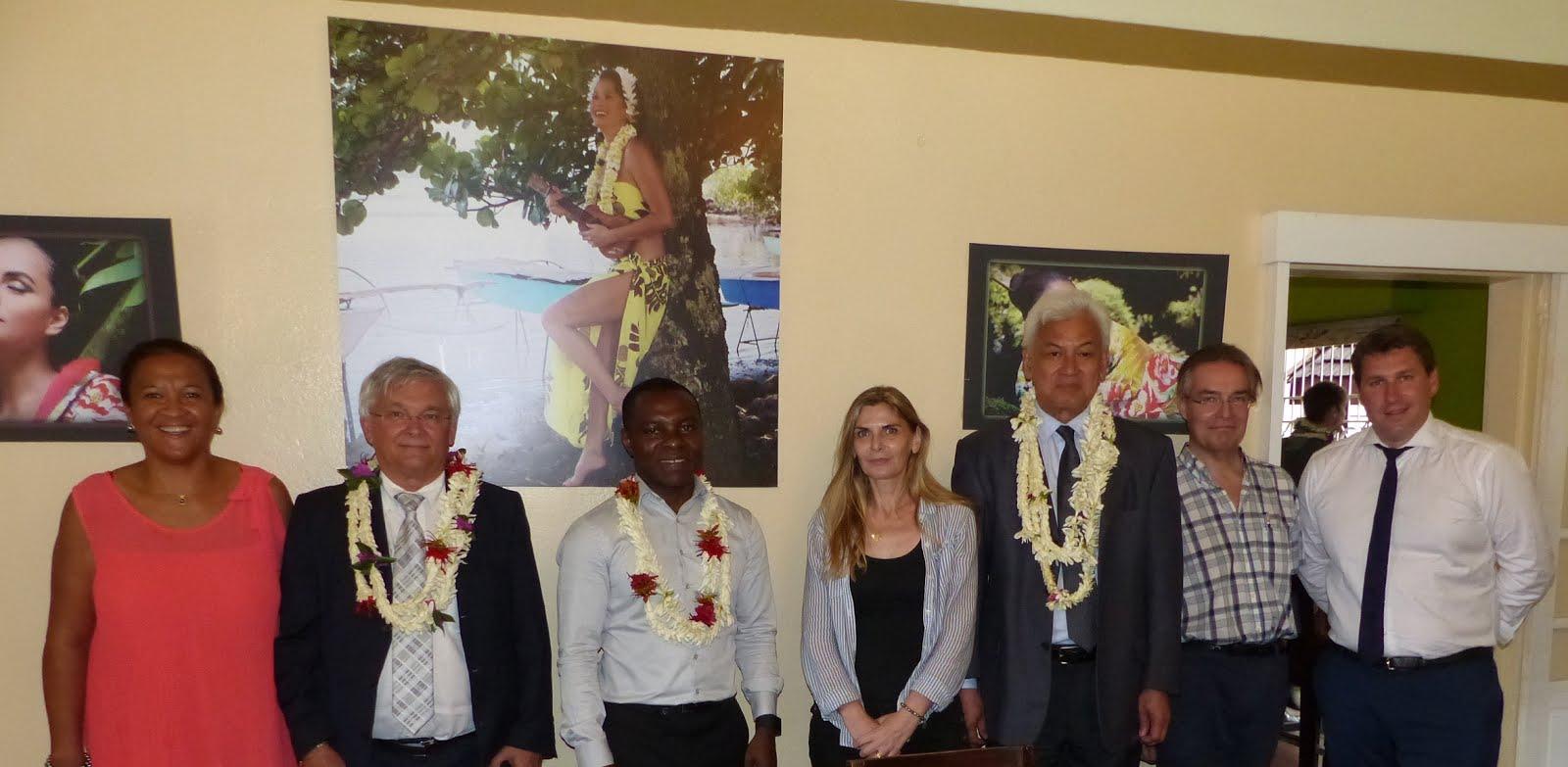 Rencontre avec la délégation sénatoriale sur le foncier dans les outre-mer