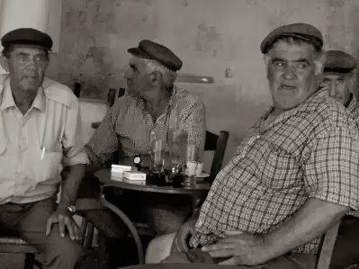 old men in a bar