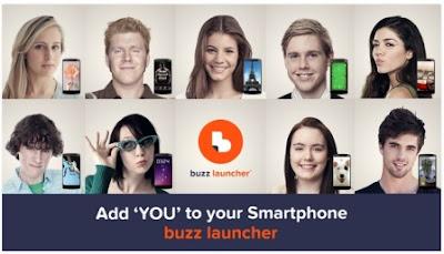 Aplikasi Tema Tampilan Buzz Launcher Terbaru APK Android