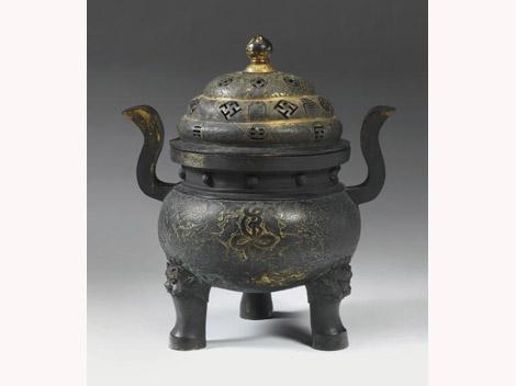 """<img src=""""Ming Bronze.jpg"""" alt=""""Footed incense burner """">"""