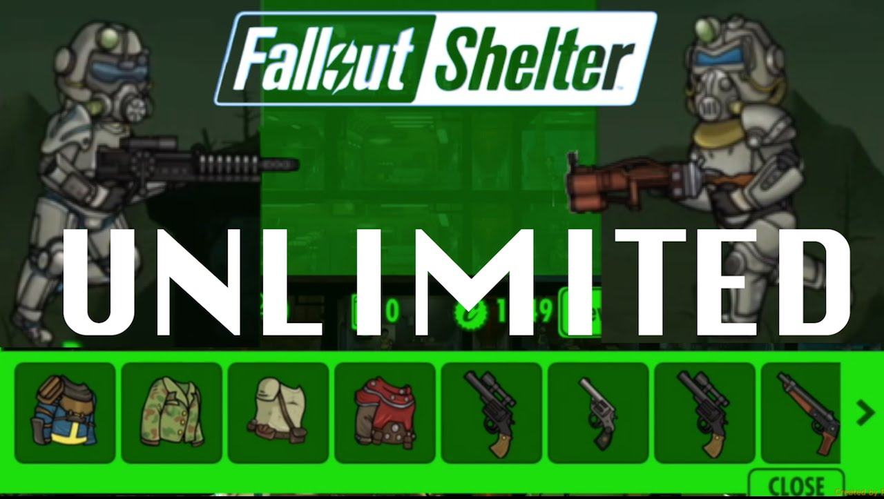 Fallout Shelter v1.1.320 Unlimited Mod/Hack For Android
