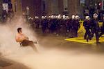 Manifestation nocturne, 20 mai