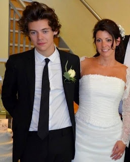 Styles was the best man at his mother's wedding