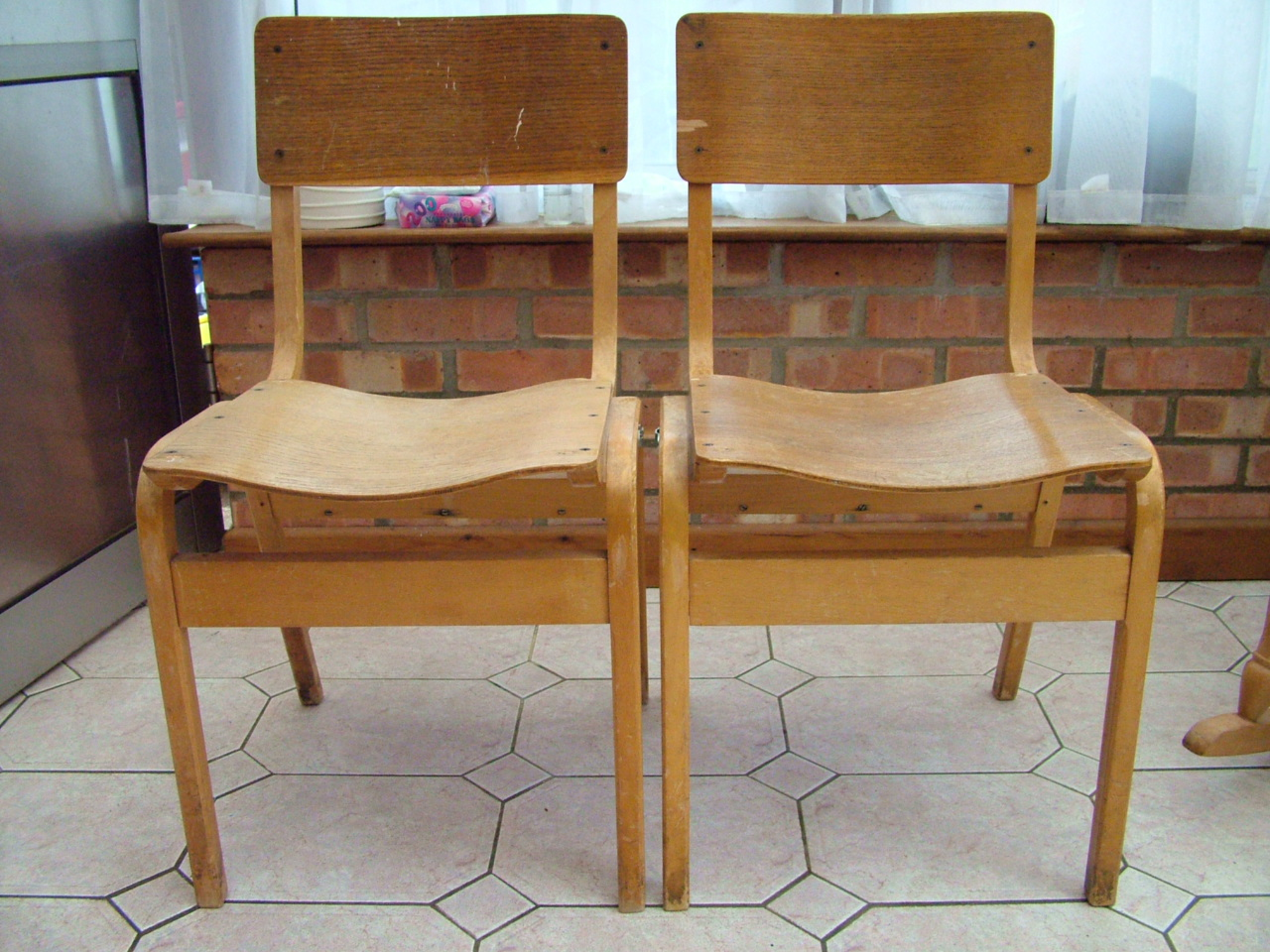 Quirky Boots Church Chairs For Sale