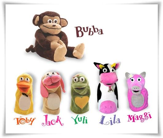 Bubba y sus amigos.