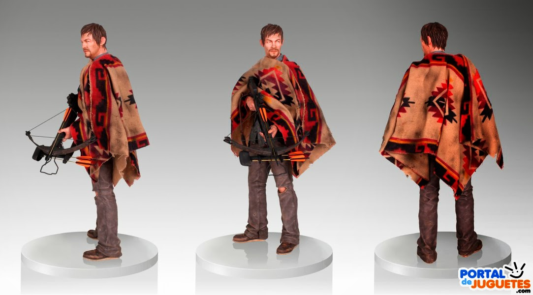 Figura Daryl Dixon The Walking Dead vistas
