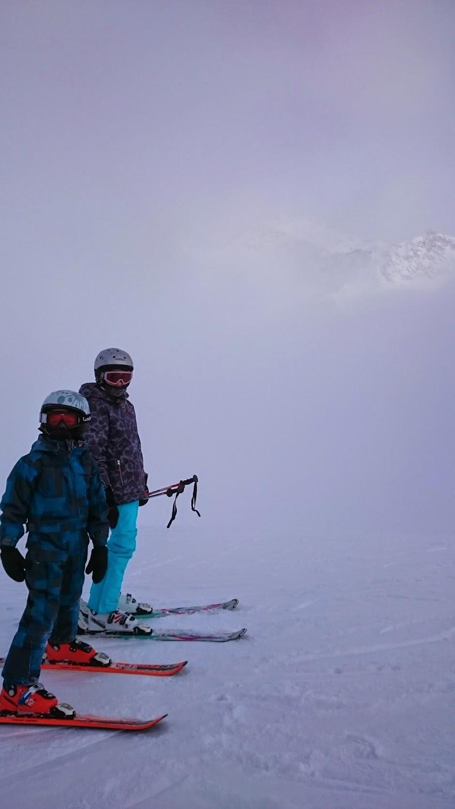 mgła, chmury, sky italy, maso corto, dzieci na nartach, gdzie jest gwarancja pogody na narty, jazda w chmurach