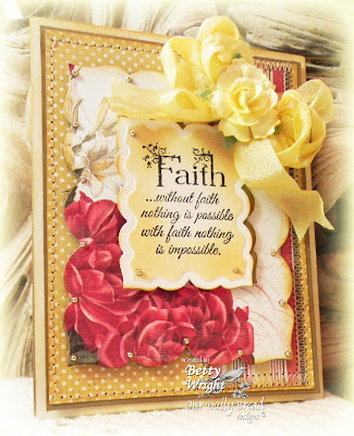 Our Daily Bread Designs, Betty Wright, Flowering Faith