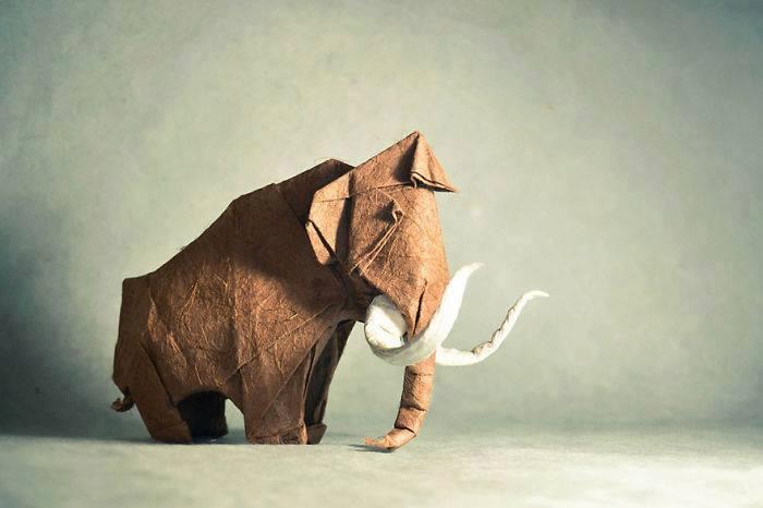 origami-gajah