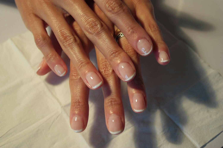 Дизайн естественных ногтей фото