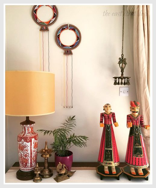 the east coast desi global desi style of decorating home tour