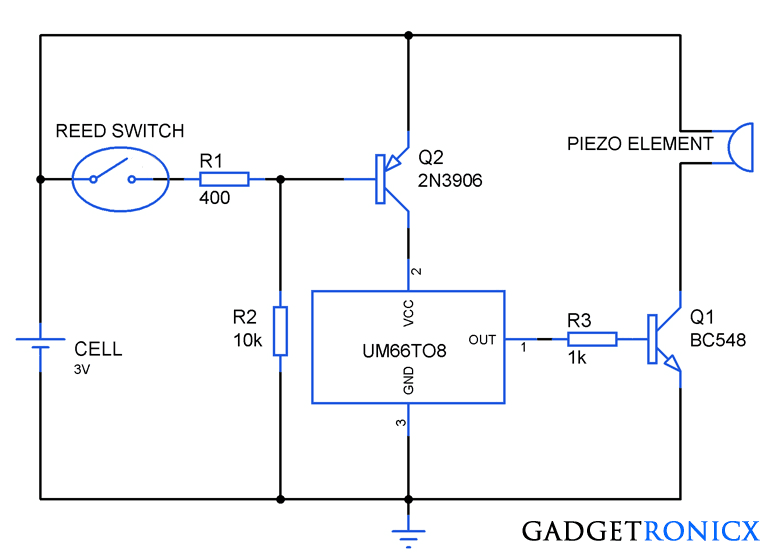 Gadgetronicx make diy musical greeting card circuit diagram m4hsunfo