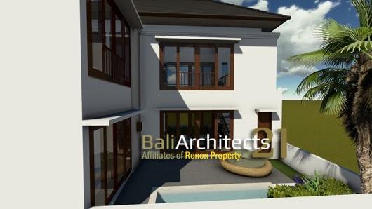 Inilah inspirasi Desain Rumah 2 Lantai Luas Tanah 100m2 2015 yang apik