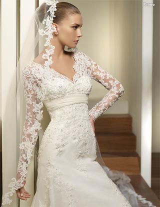 modelo mas grande: - tipos de mangas para tu vestido de novia -