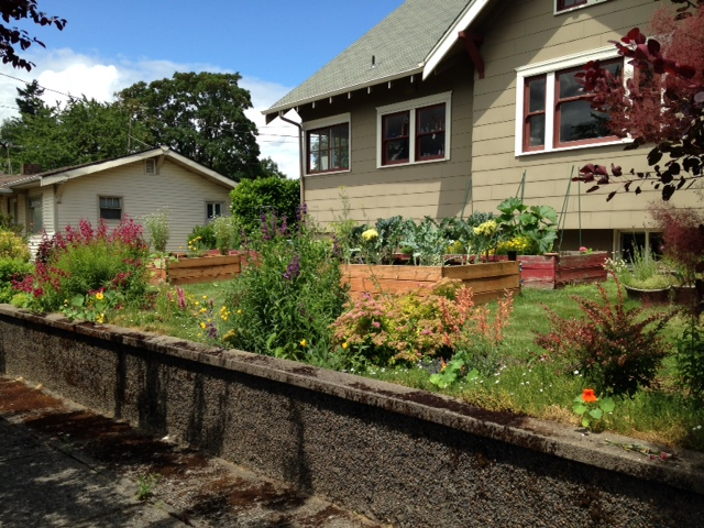 Miss Jolie Ann'S Kitchen Garden: Cottage Garden To Attract Bees