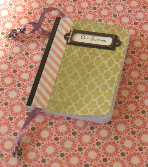 Handmade DIY Decoupage Notebook / Address Book / Journal