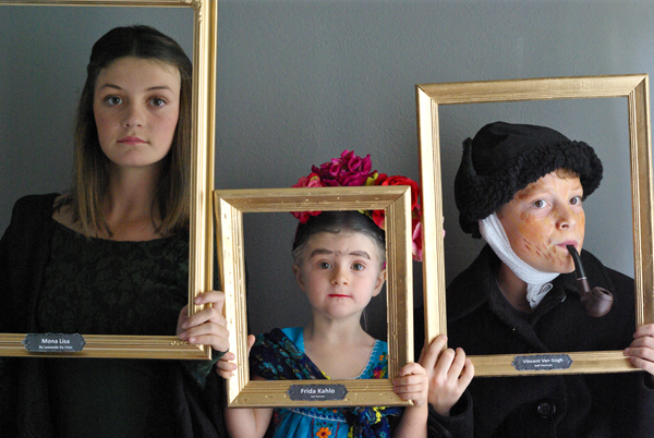 Famous Paintings Halloween Costumes - Oleander + Palm