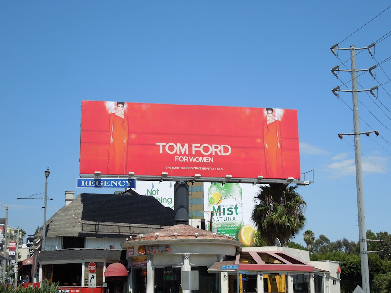 Tom Ford Women billboard