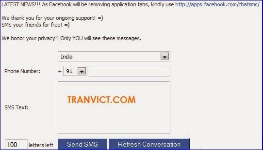 Send Free SMS Trick
