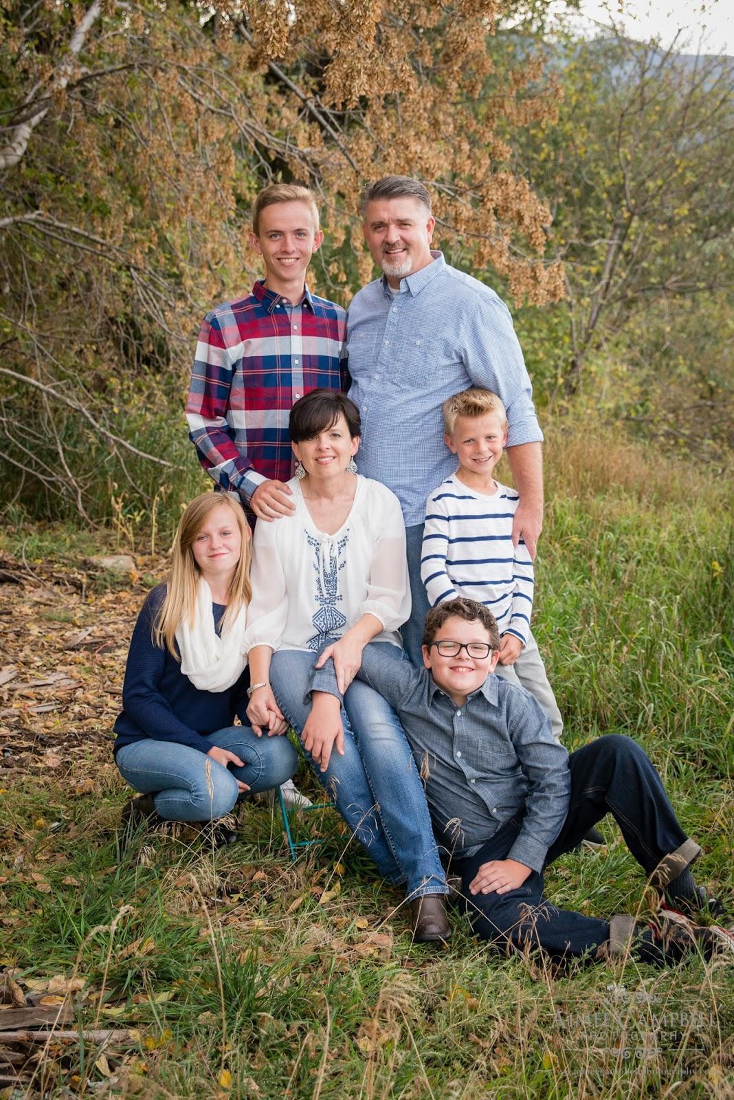 Family pictures Utah