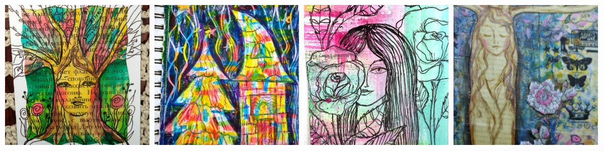Блог с моими рисунками