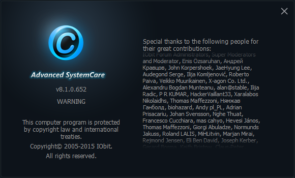 Advanced System Care Pro 8.2 crack