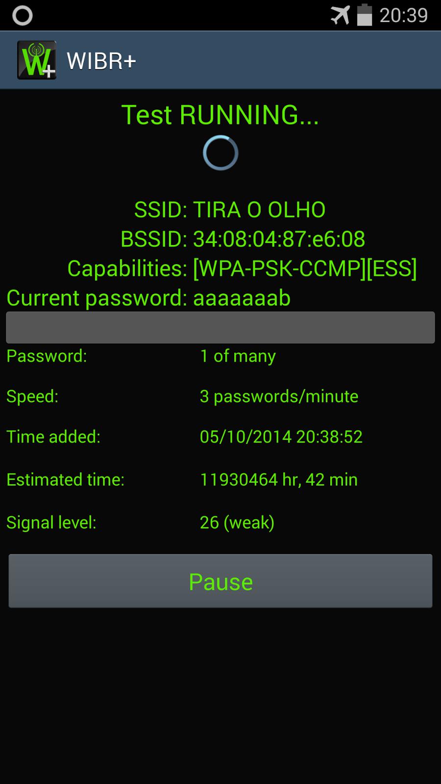 Скачать WIBR - Вибр взлом Wi-Fi на Андроид