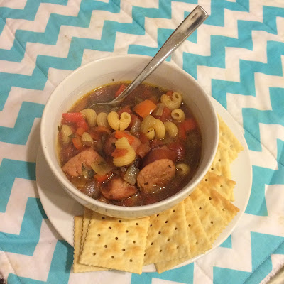 Quick and easy dinner recipes for your meal plan: Hearty Sausage Stew {Taste of Home} and Man-Pleasing Chicken {Witty in the City}!