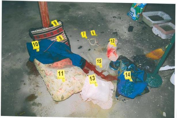 Cheshire Murders Crime Scene