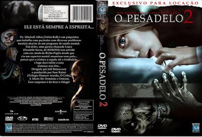 Filme O Pesadelo 2 DVD Capa