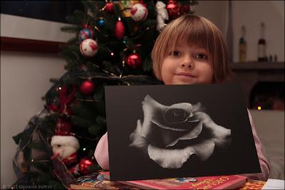 Fotografia della stampa su alluminio della foto in bianco e nero