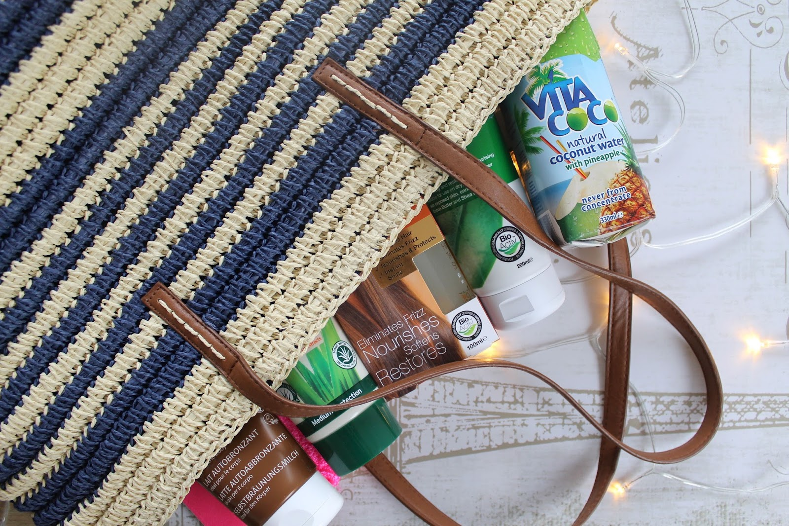 Holland & Barrett beach bag essentials