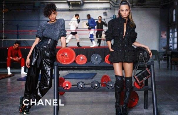 Cara Delevingne w nowej kampanii Chanel