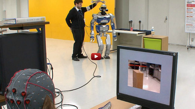 robot avatar teleoperation with thought control