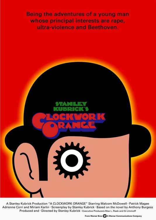Clockwork Orange movie poster