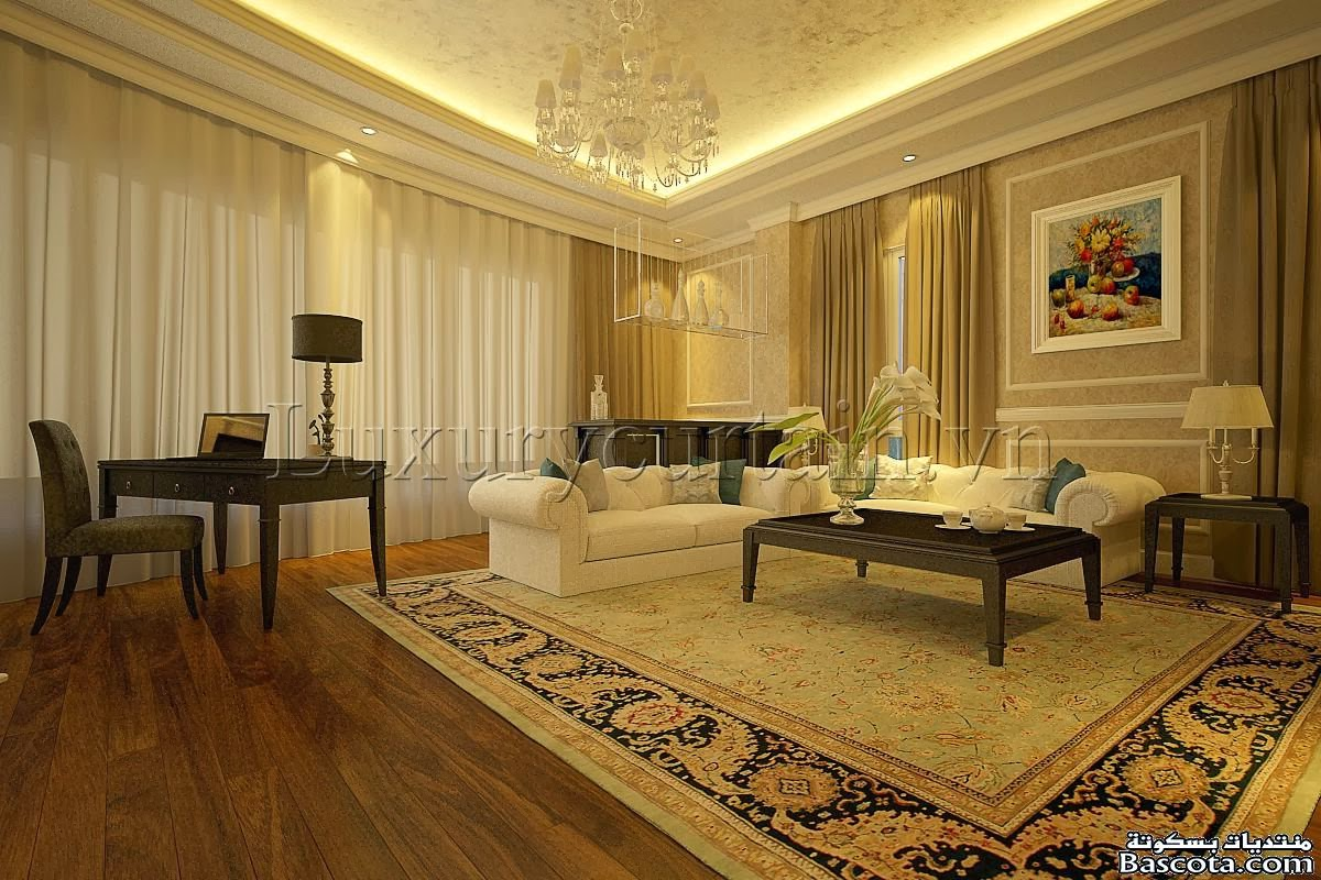 Modern living room curtains drapes home design inside for Curtain design for living room