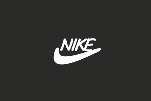nike logo comic sans